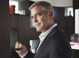 Come on. Like I wasn't going to work in a picture of Clooney? Picture by Mark Mathosian.