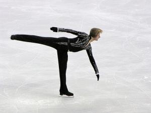 Russia's Evgeni Plushenko ends a stellar career Picture: Wendi Dunlap