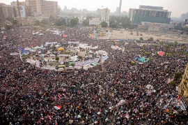 Tahrir Square, where the Arab Spring sprang. Picture by Hossam el-Hamalawy