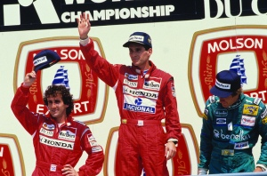 Teammates Ayrton Senna and Alain Prost hated each other's guts. Picture: Instituto Ayrton Senna