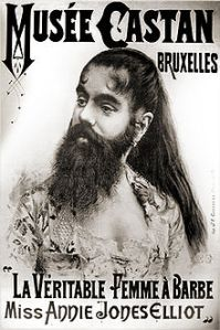 Bearded lady