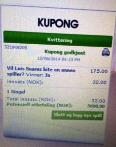 Suarez betting slip
