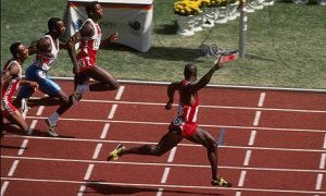 1988 Olympics Ben Johnson