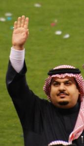 The Saudi prince who owns Al-Hilal. Who ate all the pies?