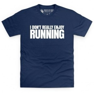 i don't enjoy running
