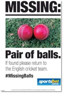 england missing balls cricket