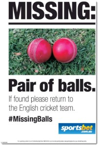 england missing balls cricket