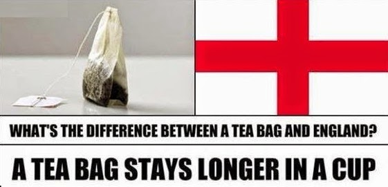 Tea Bag and England