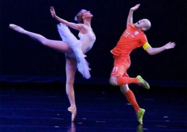 robben ballet meme
