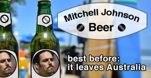 Mitch Johnson beer