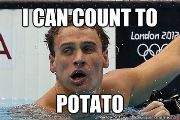 Lochte count to potato